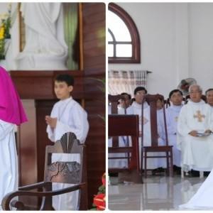 Giáo xứ Hòa Hội đón cha tân chánh xứ