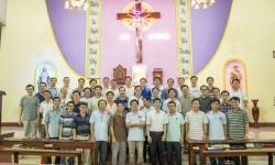 Thường huấn cho các anh em khấn trọn