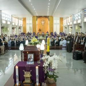 Thư cảm tạ sau lễ an táng cha Phanxicô Xaviê Vũ Phan Long