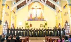 Thánh lễ tuyên khấn lần đầu