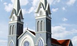 Thánh lễ tạ ơn đặt viên đá đầu tiên xây dựng nhà thờ Giáo xứ Đá Nện