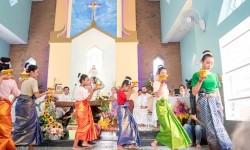 Khánh thành ngôi nhà thờ Tuol Krosang