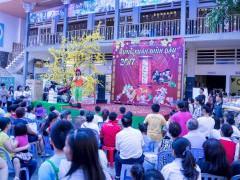 Hội chợ mừng xuân tại Giáo xứ thánh Phanxicô Đakao